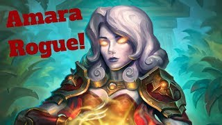 Amara Rogue! The Game That Never Ends! [Hearthstone Game of the Day]
