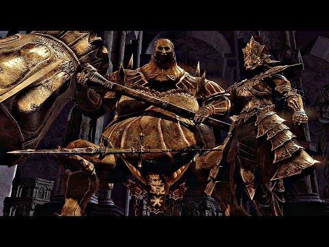 Dark Souls Remastered - Ornstein & Smough Boss Fight (1080p 60fps) PS4 PRO