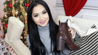 BIG Winter Shoe Haul Boots & Heels!!!