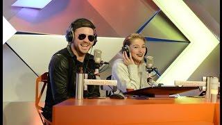 Арсений Бородин и Настя Ивлеева в студии Страна FM