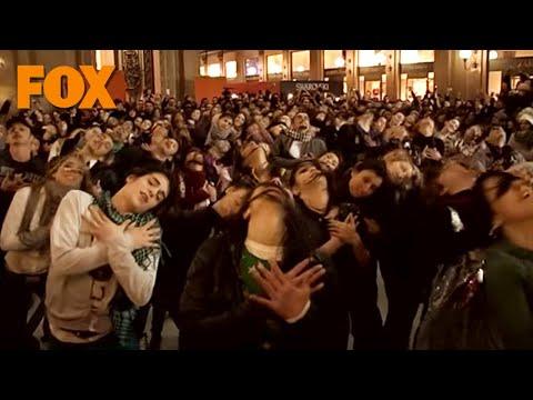 Glee - il flashmob