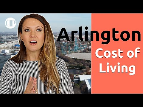 Cost Of Living Arlington Texas And MORE!