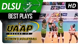 Majoy Baron denies Jaja Santiago! | DSLU | Best Plays | UAAP 79 MV