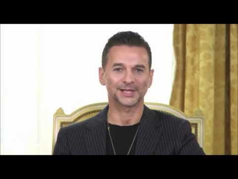Dave Gahan greets Depeche Mode Fanclub Israel