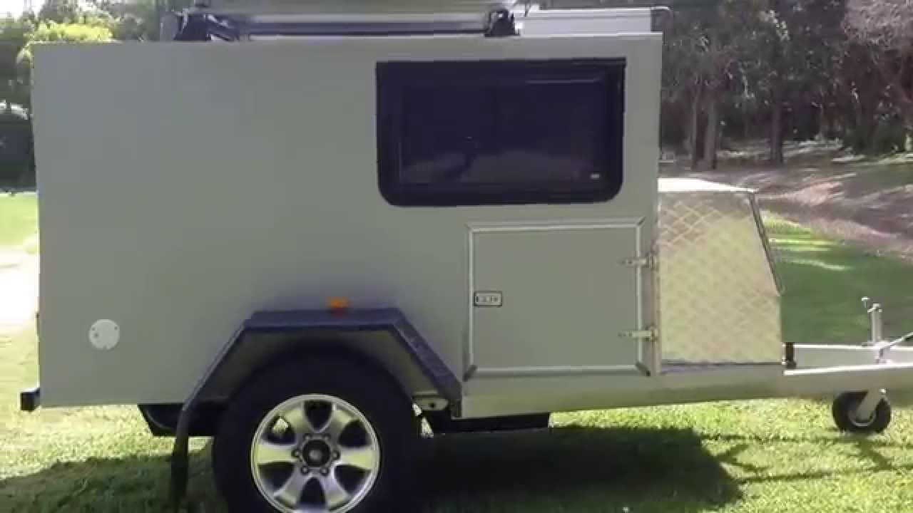 Square Teardrop Off Road Camper Walk Around 1 Youtube