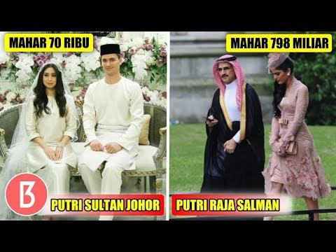 Maharnya Beda Banget, Perbandingan Pernikahan Anak Sultan, Raja Dan Presiden