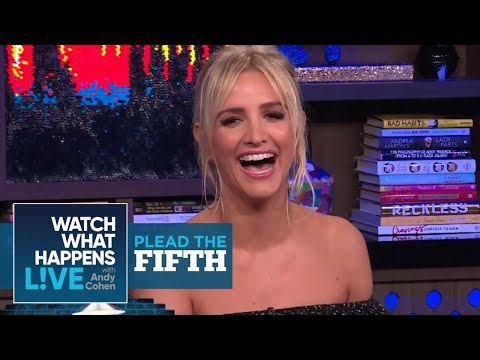 Was Ashlee Simpson's Song About Lindsay Lohan?  Plead The Fifth  WWHL