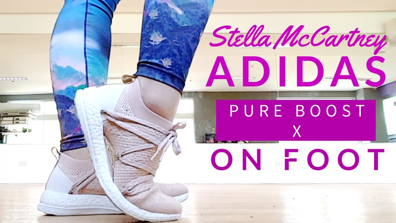 9570af8c0 Stella McCartney Pure Boost X on foot ✓ - YouTube