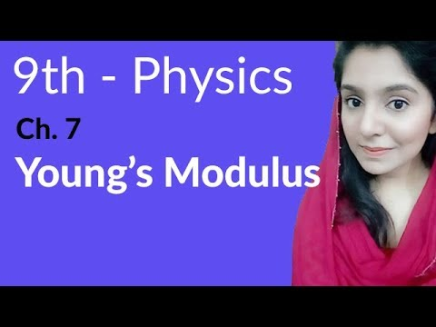 9th Class Physics in Urdu,Young's Modulus  Physics Chapter 7 Properties of Matter