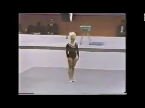Vera Caslavska 1968 Mexico City Floor Ex *rare film*