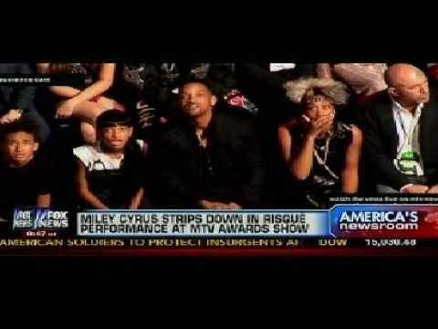 Will Smith and Family's Reaction to Miley Cyrus Twerking ...