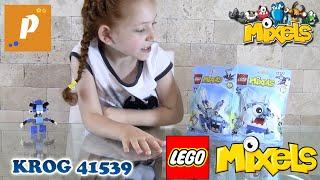 Распаковка и обзор лего миксели Крог Unboxing and review lego mixel krog 41539