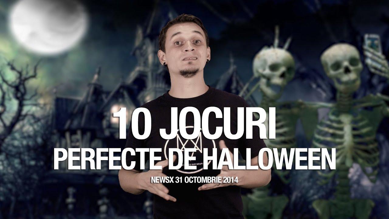 newsx: 10 jocuri pentru halloween - youtube
