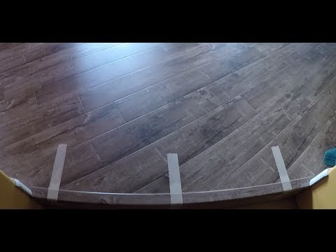 How to Laminate Flooring. Stair Nose. End Cap. T-molding. DIY. Shot with GoPro