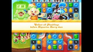 Candy Crush Jelly Saga Level 1007 (3 stars, No boosters)