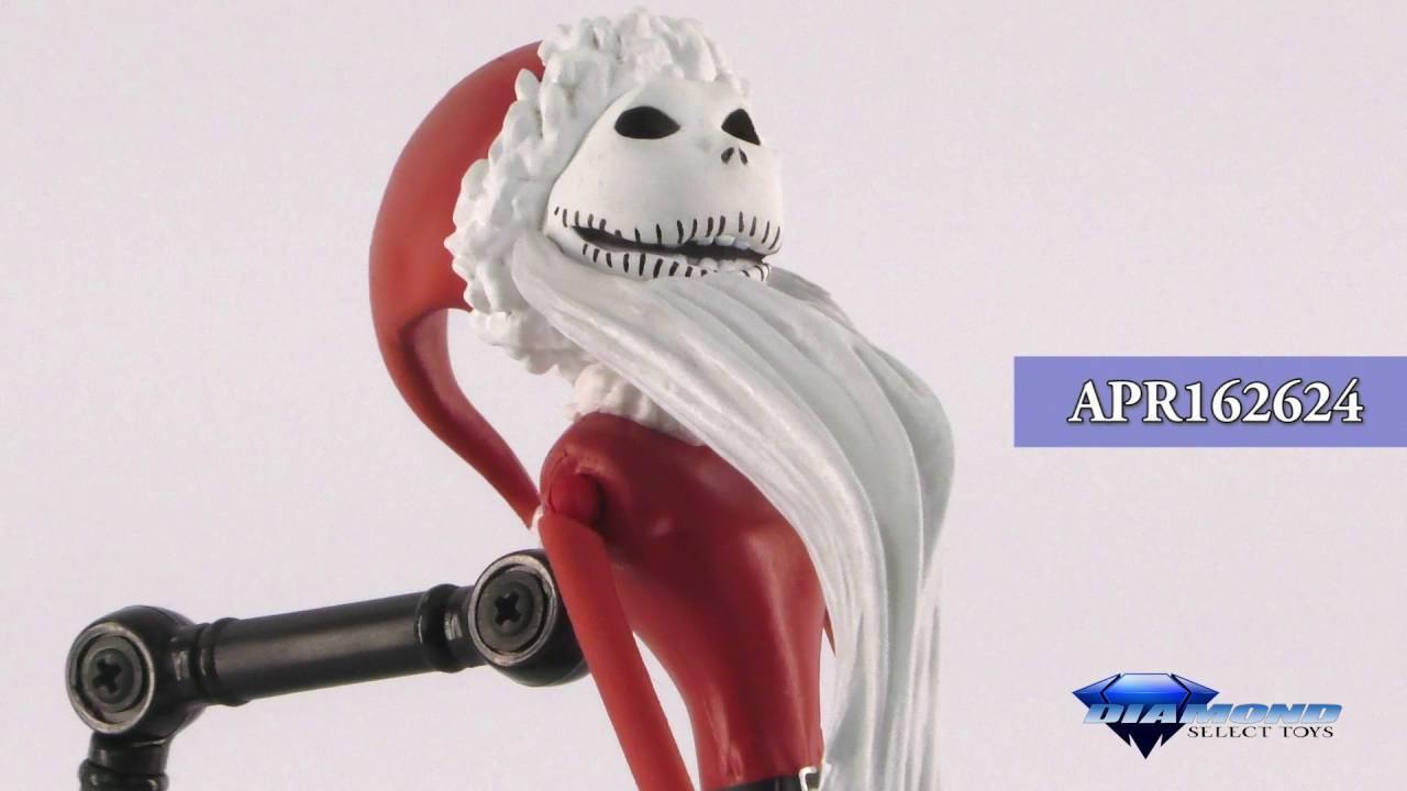 Nightmare Before Christmas Select Series 2 Santa Jack Action Figure ...