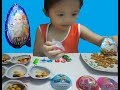 Game play stripped of eggs chocolate biscuit princess ,snow girl ,Bao Chau Kids Toys