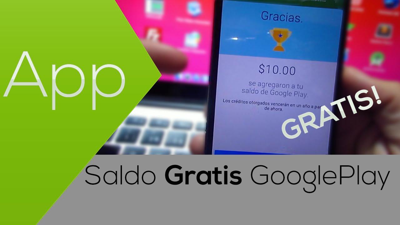 Quieres Saldo Googleplay Gratis 100 Funcional Y Legal Entra Aqui 2015 Youtube