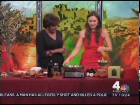 Moroccan Olive Oil on NBC's Today in New York - 06/21/15