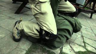 helikon tex urban tactical pants in action