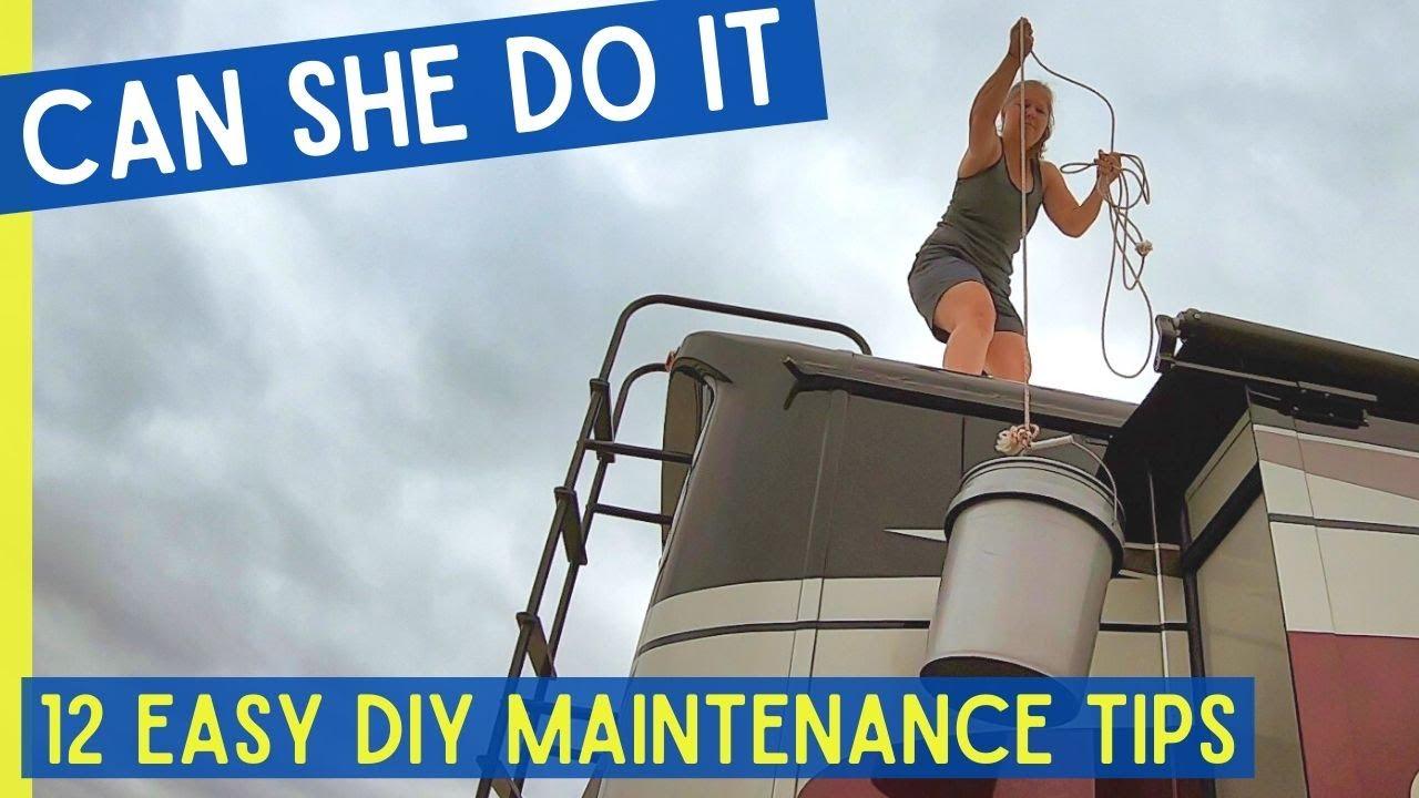 The Basics of RV Maintenance (SO SIMPLE) Full Time RV Living