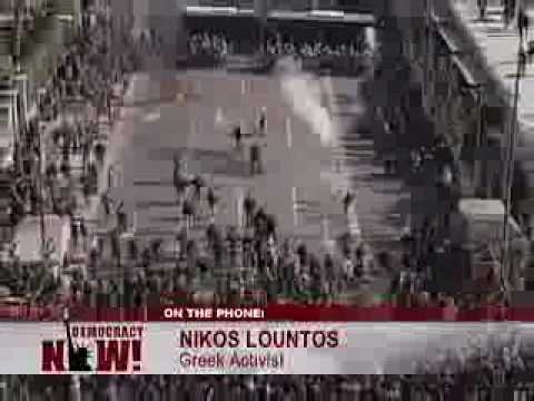 Uprisings in Greece. Police shoot activist teen-2/2