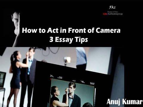 Acting Video : एक एक्टर के लिए कितना जरूरी है कैमरा एक्टिंग, देखें वीडियो