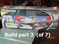FMS 1450 P-51 Build Part 3 of 7  (assembling the wings)