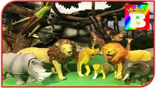 Sa învățăm animalele domestice și sălbatice. ANIMALELE SALBATICE DIN SAVANA. Bogdan`s Show IN SAVANA