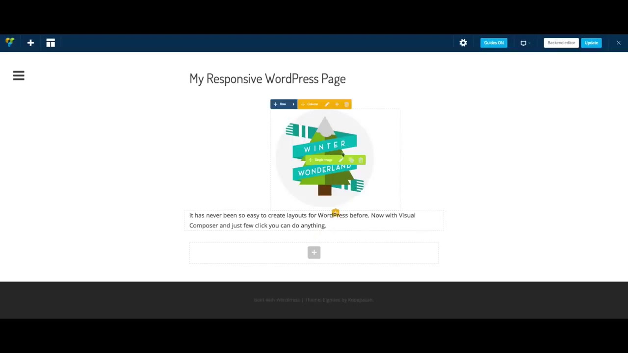 Column Settings in WPBakery Page Builder - WordPress Websites For