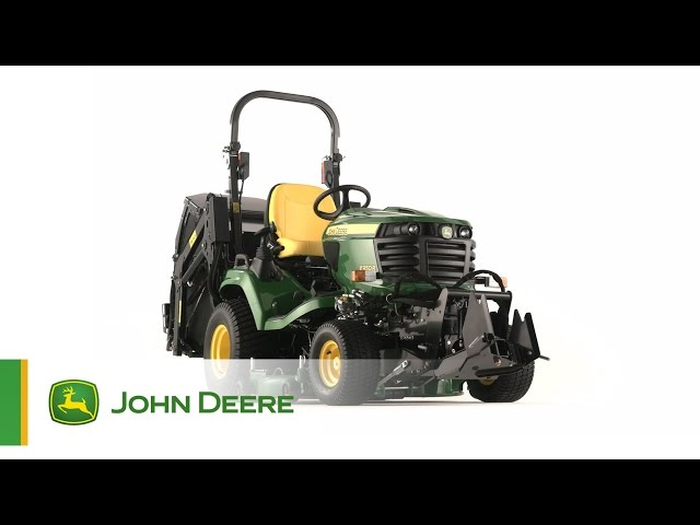 The John Deere X950R Diesel Mowing Tractor