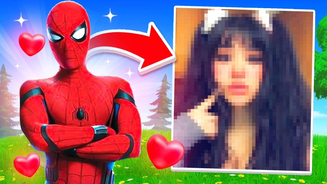 I Stream Sniped My Girlfriend With The SPIDERMAN Skin... (unreleased)