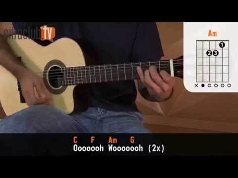 Wavin' Flag - K'naan (aula de violão simplificada)
