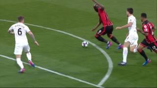 Video Gol Pertandingan AFC Bournemouth vs Swansea City