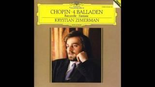 CHOPIN - Four Ballades - Krystian Zimerman