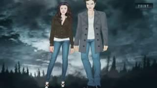 Сага. Сумерки. Одень героев игры для девочек / The Twilight Saga Dress up heroes games for girls