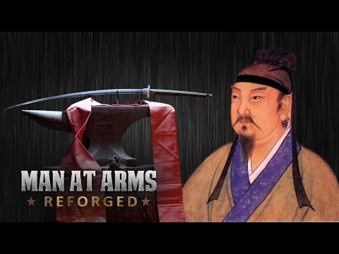 400 Year-Old Dandao Sword - MAN AT ARMS: REFORGED
