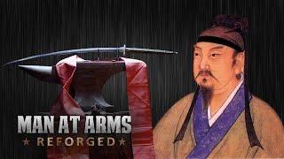 400 year old dandao sword man at arms reforged