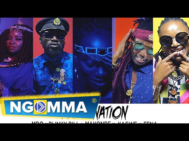 PARTY NATION - Fena x MDQ x Mayonde X Kagwe x Blinky Bill (Official Video)