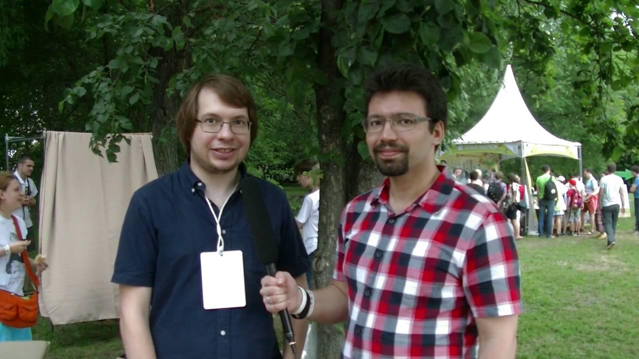 Geek Picnic 2016, Интервью с Александром Панчиным