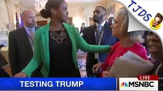 NBC Reporter Physically Removed From White House Meeting