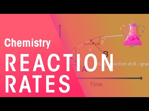 rates of reactions part 1 chemistry for all fuseschool youtube