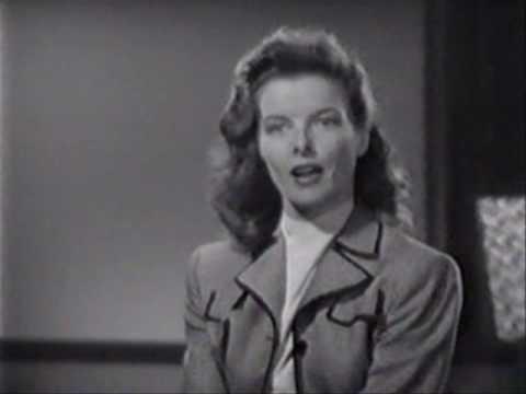 Katharine Hepburn: her portrait in 33 clips!!