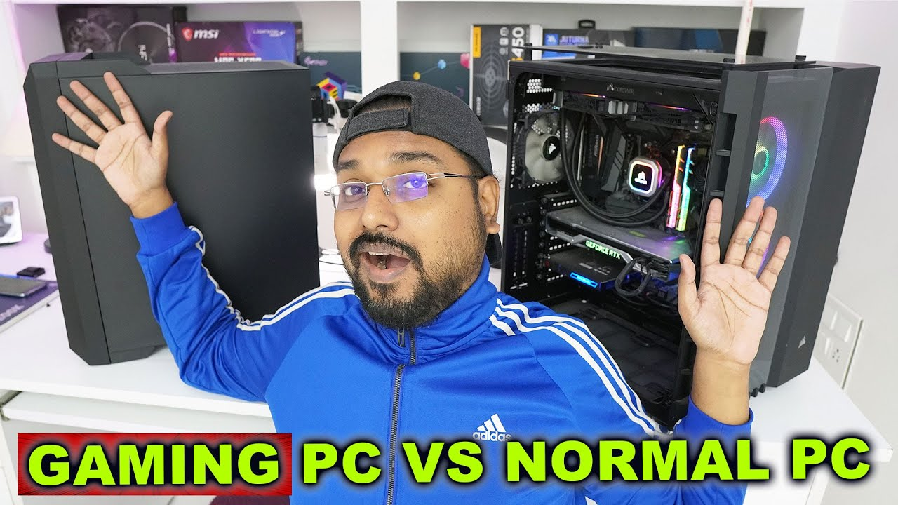 GAMING PC vs NORMAL PC