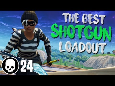 DOUBLE HEAVY SHOTGUN META!!! 24 Kill Gameplay (Fortnite Battle Royale)