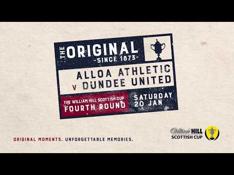 Alloa Athletic 0-2 Dundee United | William Hill Scottish Cup 2017-18 – Fourth Round