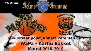Robert Petersen Cup WB-Pantterit - Karhu Basket