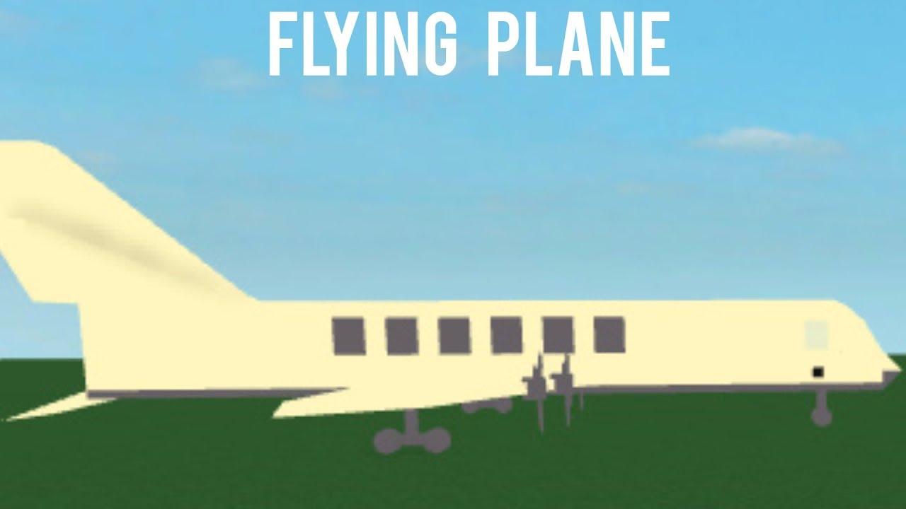 roblox how to make a plane script