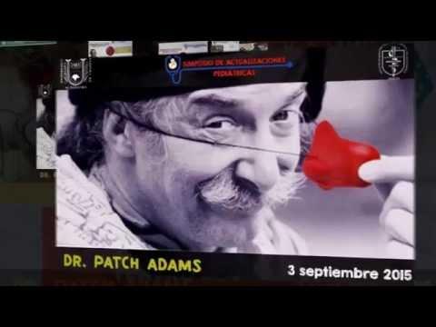 Patch Adams en Chiapas - Simposio de Actualizaciones Pediátricas