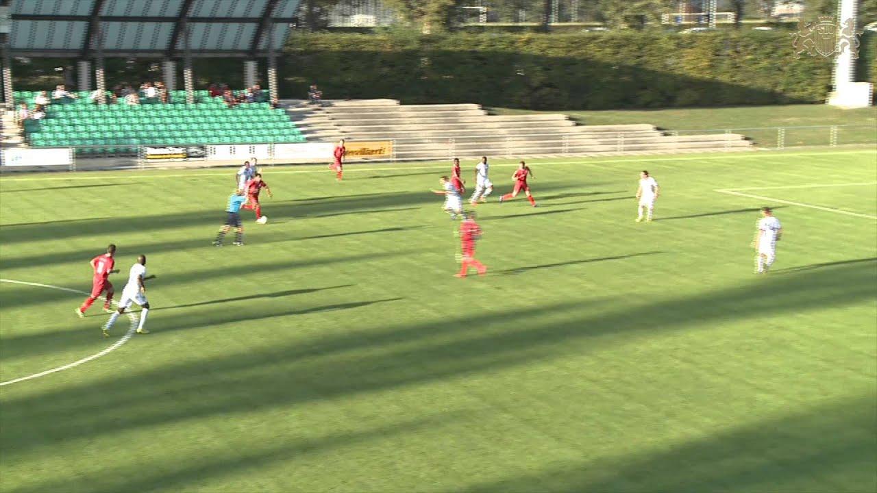 Résumé du match derby entre le FC Stade Lausanne Ouchy et le FC Azzurri - YouTube